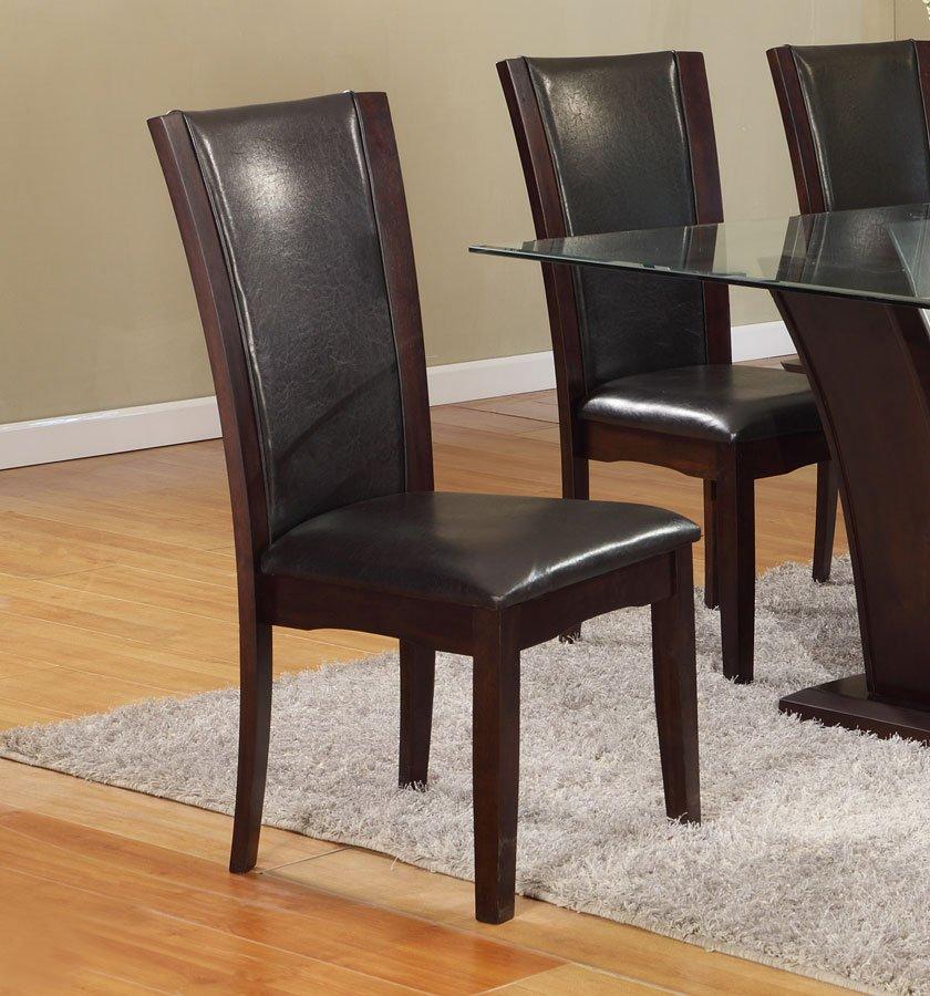 Camelia Rectangular Dining Set W Espresso Chairs Crown