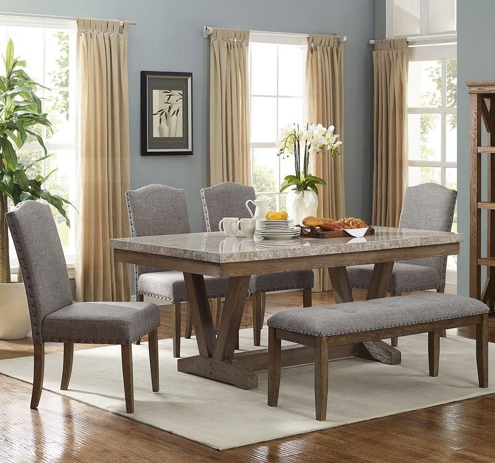 Vesper Rectangular Dining Room Set Crown Mark Furniture Furniture Cart