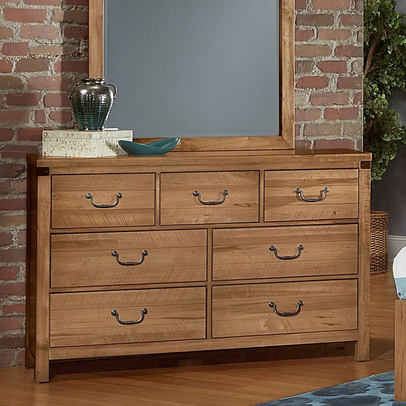 Sedgwick Triple Dresser Natural Maple