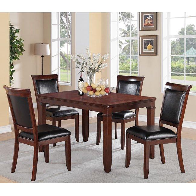 Dallas 5-Piece Dining Room Set Standard Furniture