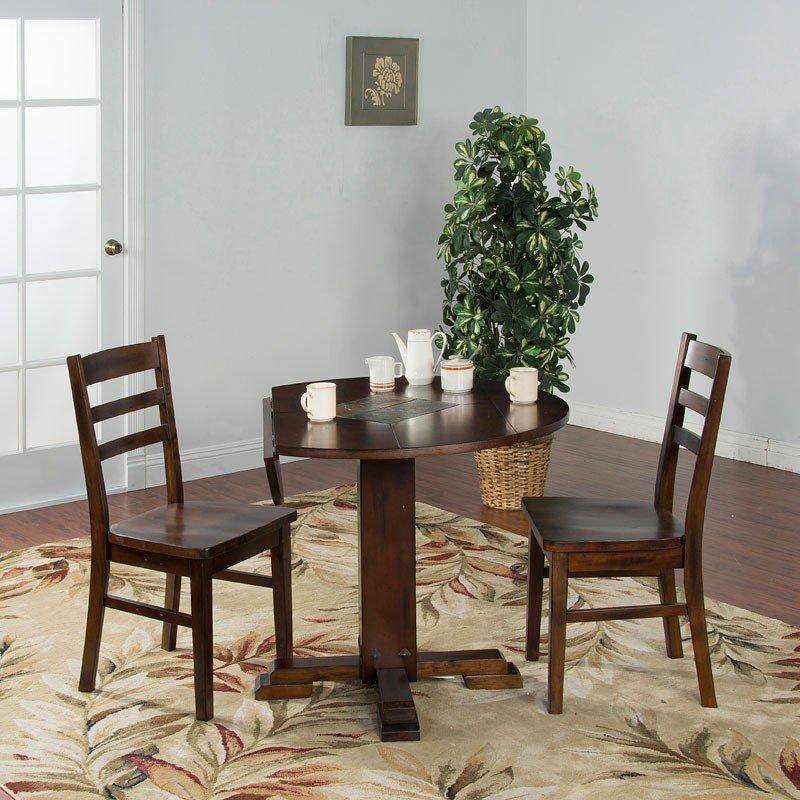 Santa Fe Round Dining Room Set Sunny Designs | Furniture Cart