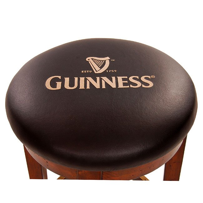 Guinness Backless Barstool Set Of 2