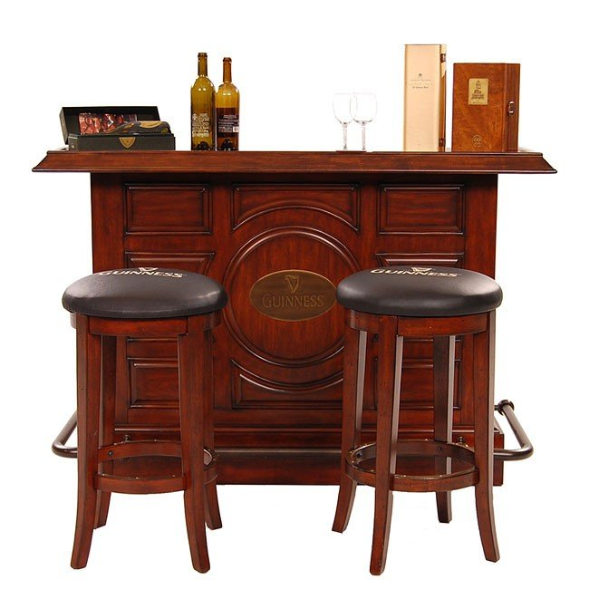 Guinness Raised Panel Bar Set Eci Furniture 6 Reviews