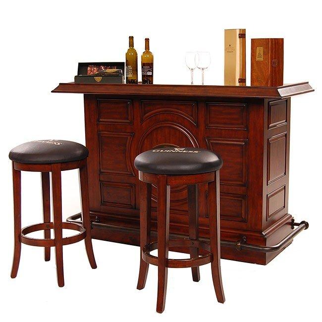 Guinness Raised Panel Bar Set Eci Furniture 6 Reviews Furniture Cart