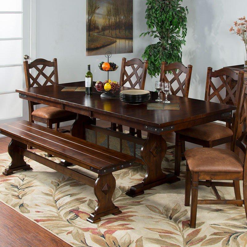 Santa Fe Rectangular Dining Table Sunny Designs ...