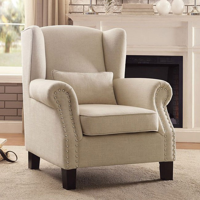 Adelaide Light Neutral Accent Chair