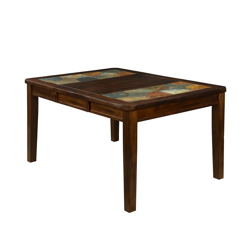 Santa Fe Slate Top Extension Dining Table