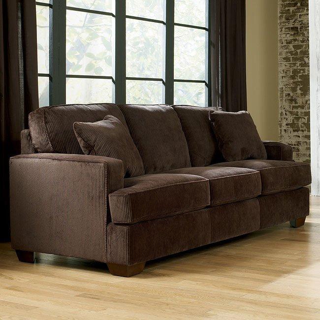 Atmore - Chocolate Queen Sofa Sleeper