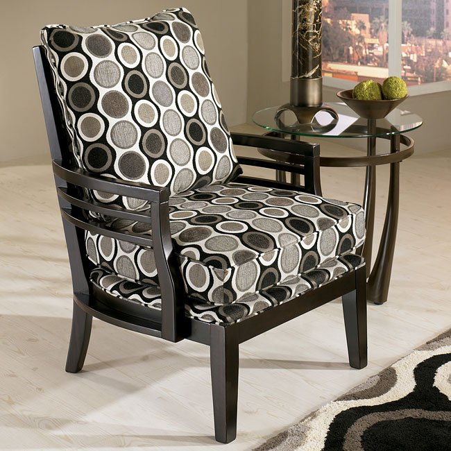 Kaldiscope - Steel Showood Accent Chair
