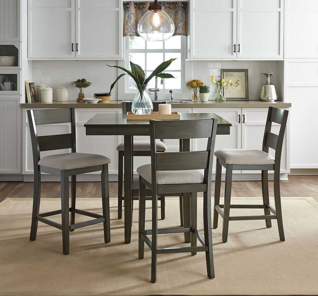 Standard Furniture Brooklyn 5 Piece Counter Height Dining: Loft 5-Piece Counter Height Dining Set Standard Furniture