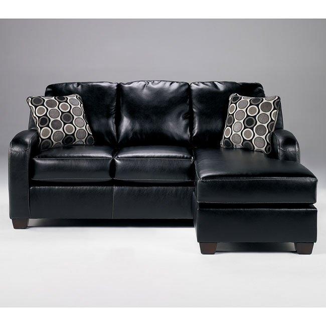 Devin DuraBlend - Black Sofa Chaise