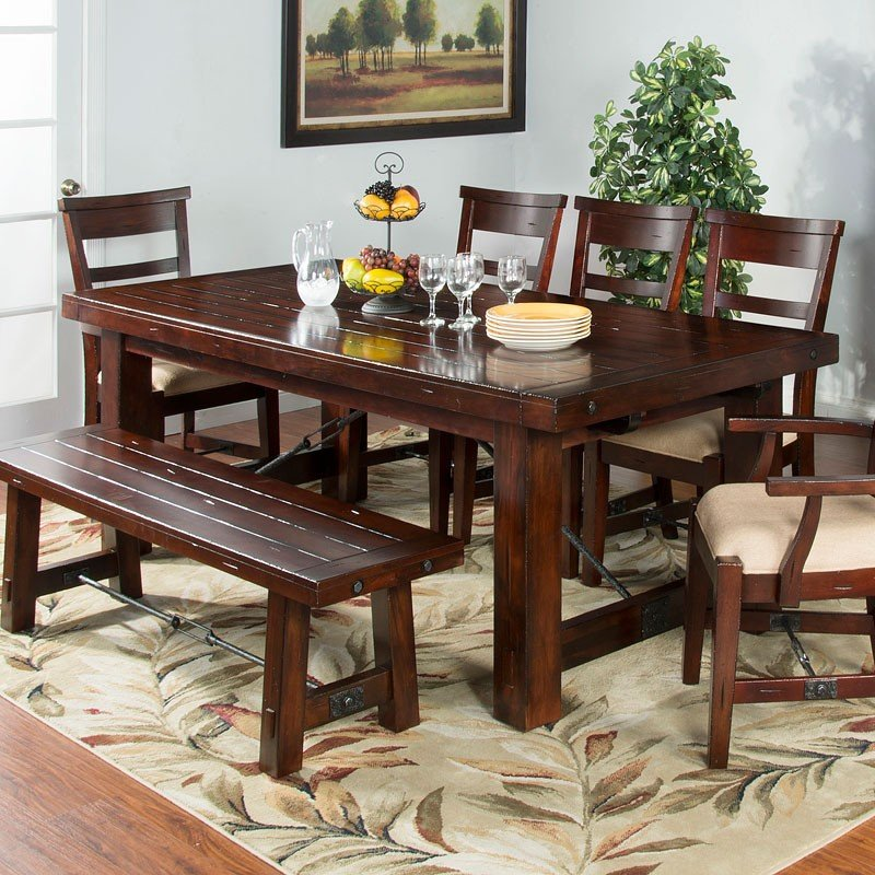 Vineyard Extension Dining Table