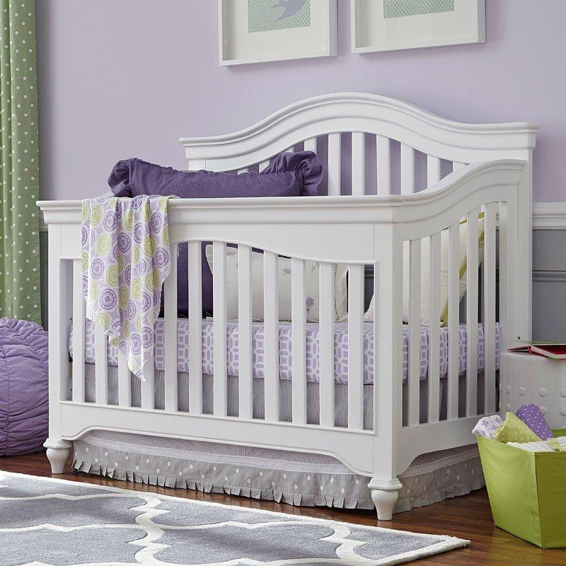 Classics 4.0 Convertible Crib (Summer White)