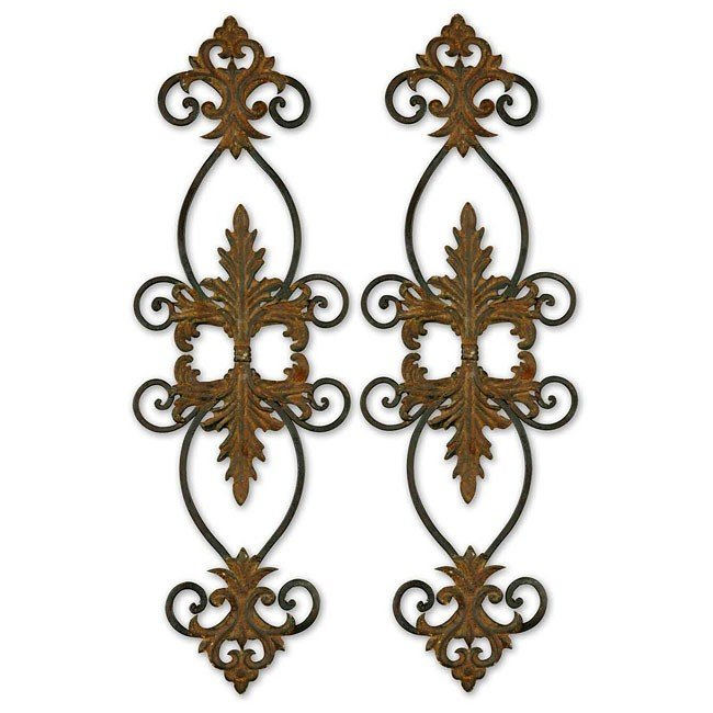 Lacole Metal Wall Art (Set of 2)