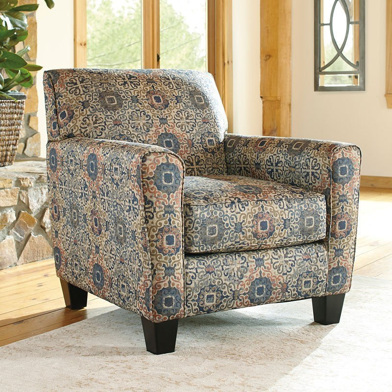 Belcampo Rust Accent Chair Signature Design By Ashley