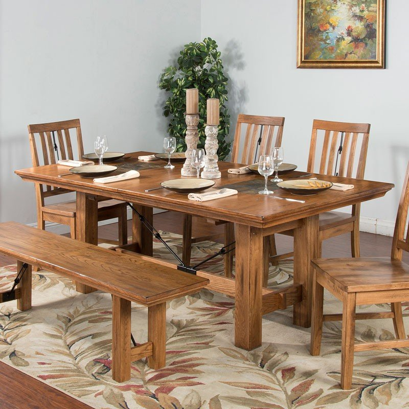 Sedona Extension Adjustable Height Dining Table