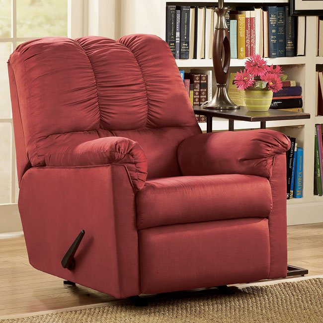 Director - Red Rocker Recliner