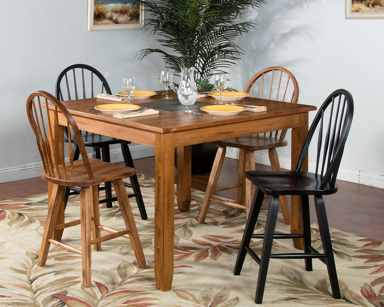 Sedona Square Counter Height Dining Room Set Sunny Designs