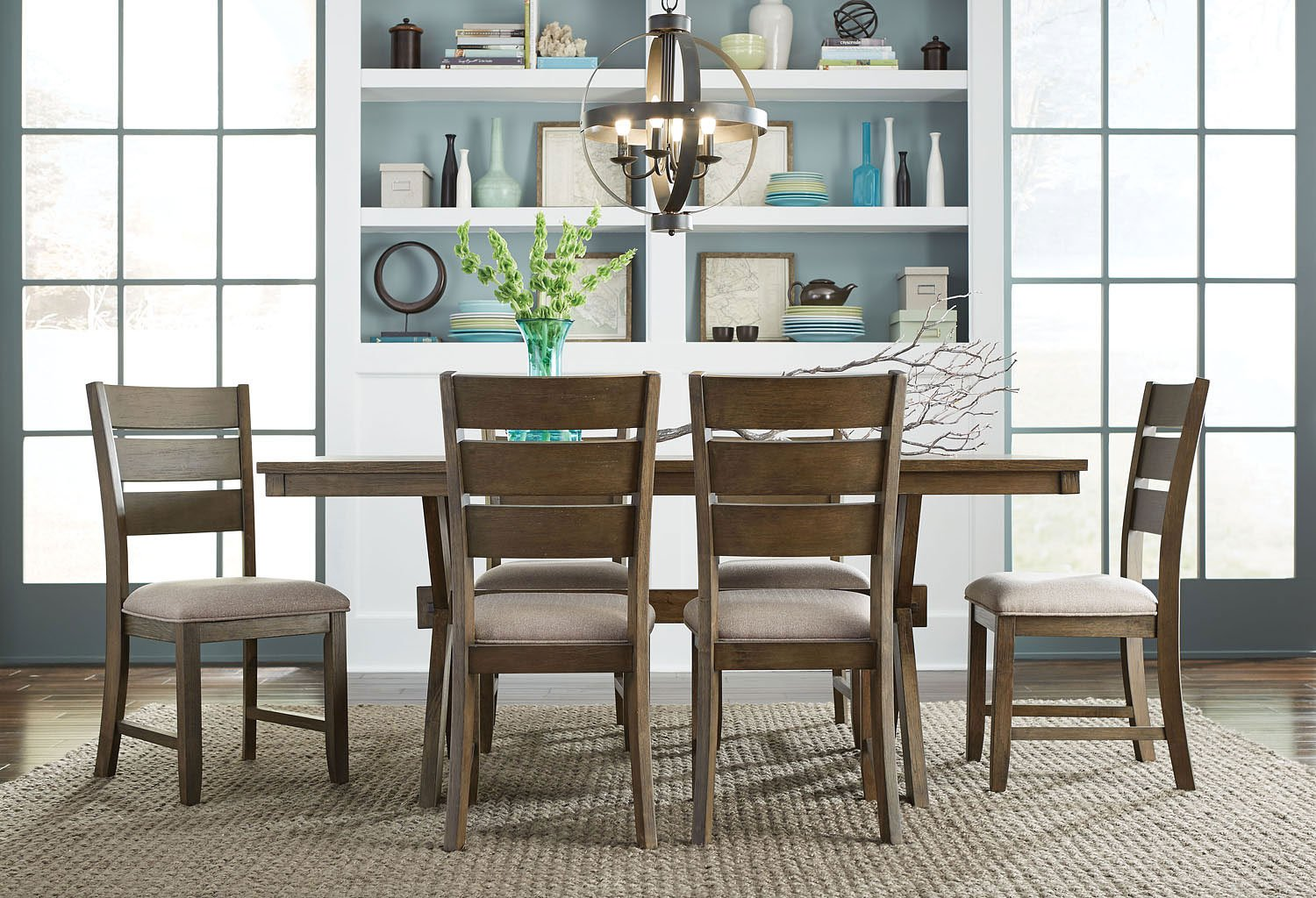 Sherwood 7 Piece Dining Room Set