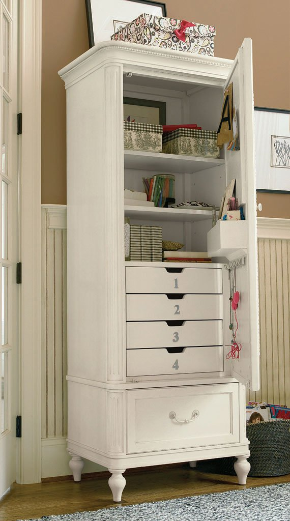 Gabriella Armoire Smartstuff Furniture Furniture Cart