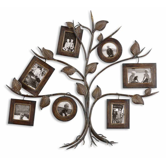 Rustic Tree Photo Collage