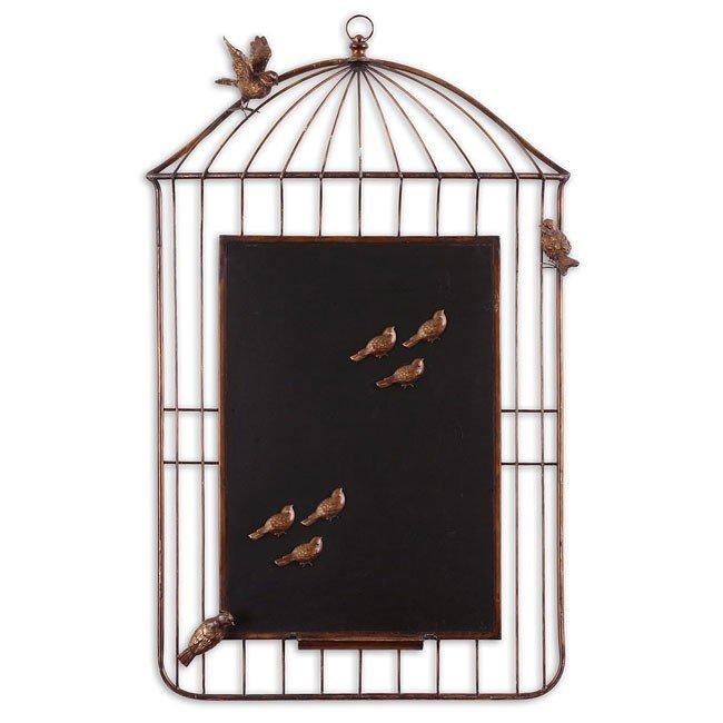 Bird Cage Chalkboard