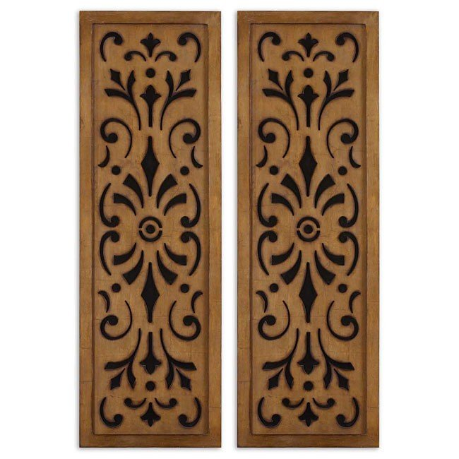 Attalla Metal Wall Art (Set of 2)