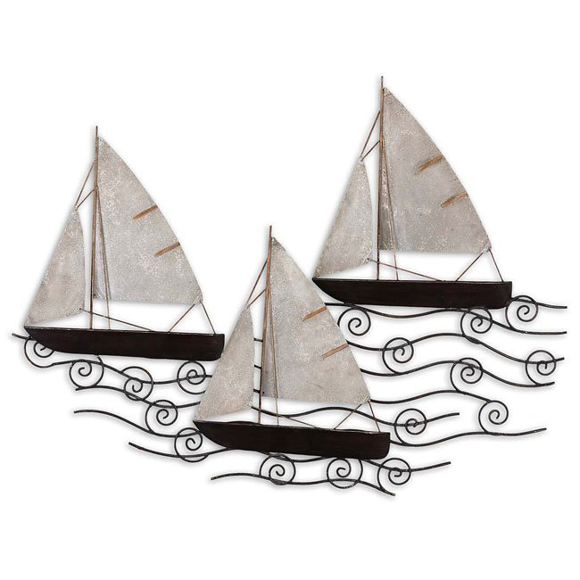 Set Sail Metal Wall Art