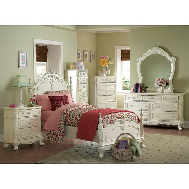 Cinderella Youth Low Post Bedroom Set