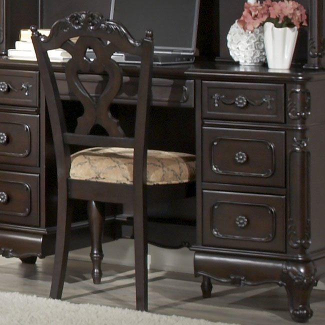 Ashley Furniture In Woodbridge Nj: Cinderella Youth Bedroom Set (Cherry) Homelegance