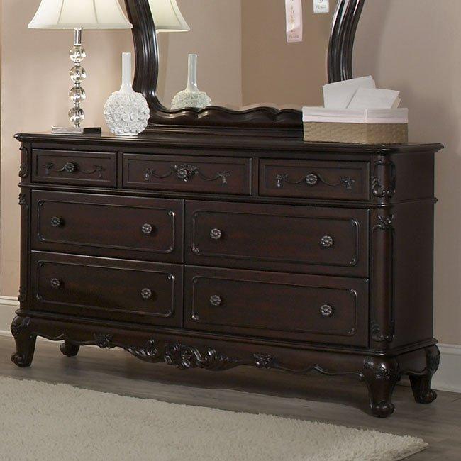 Cinderella Bedroom Set Cherry Homelegance Furniture Cart