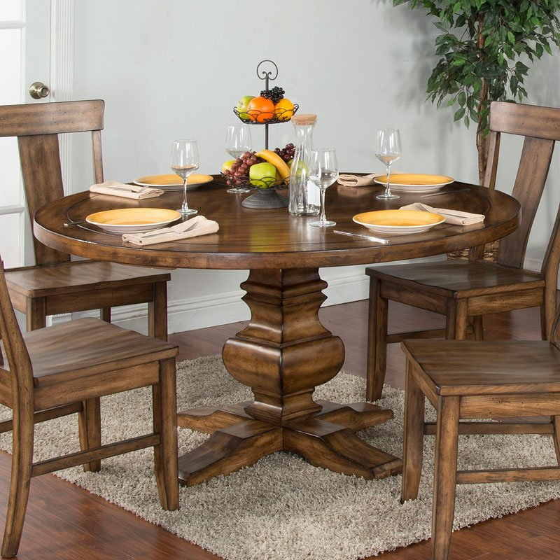 Awesome Cornerstone Round Dining Room Set Customarchery Wood Chair Design Ideas Customarcherynet