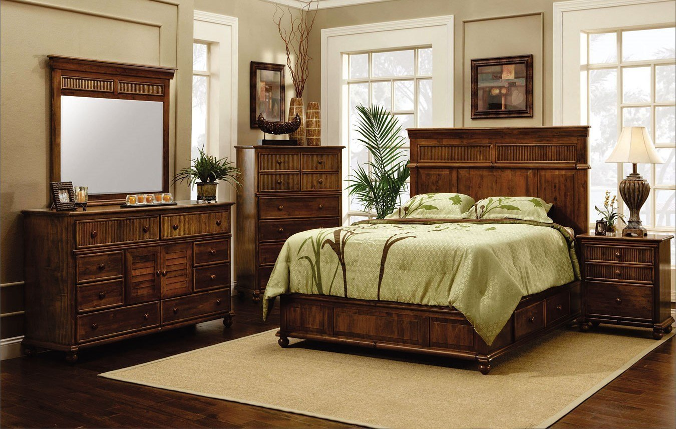 Island retreat storage bedroom set cottage creek furniture furniture cart Cottage retreat bedroom set