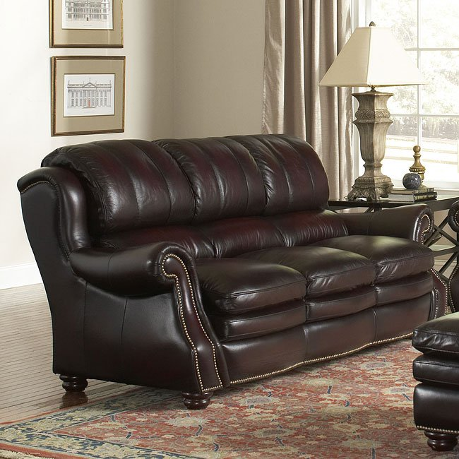 Leather Sofas Reviews: Bridgeport Leather Sofa Leather Italia, 1 Reviews
