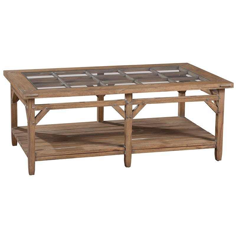 Suttons Bay Primitive Coffee Table Hekman