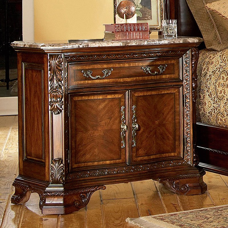 Old World Nightstand