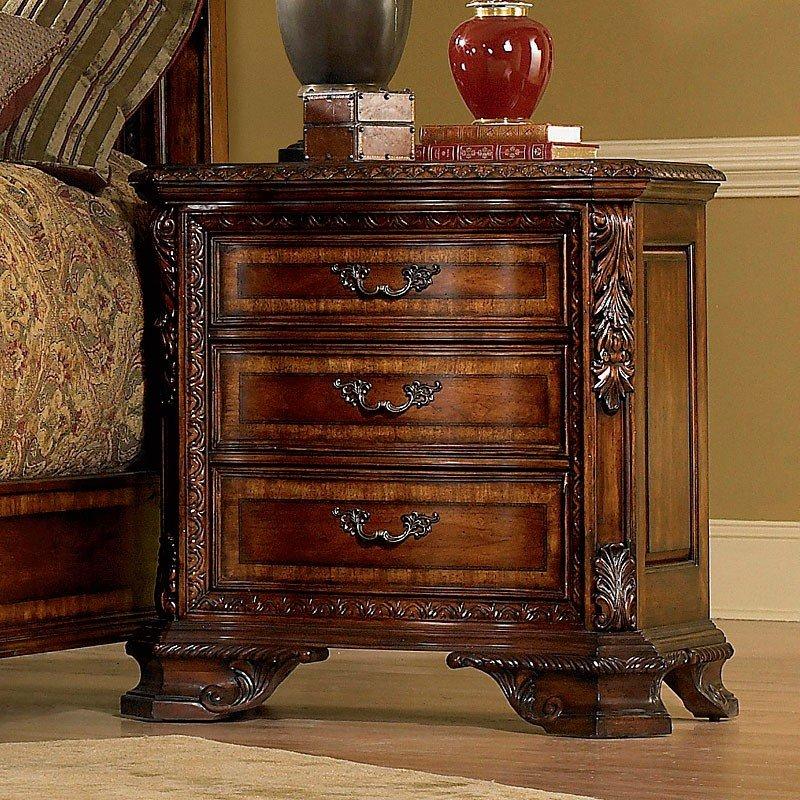 Old World Bedside Chest ART Furniture