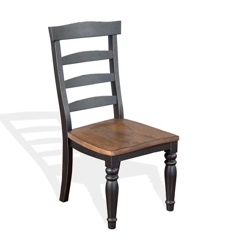 Bourbon County Ladderback Side Chair Peanut Butter And