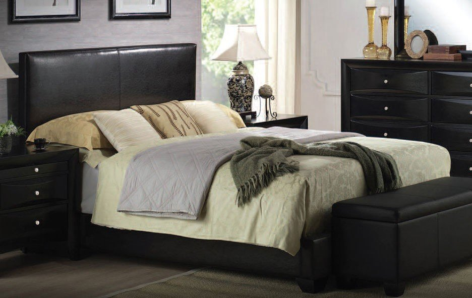 Ireland Upholstered Panel Bed Acme Furniture Furniture Cart