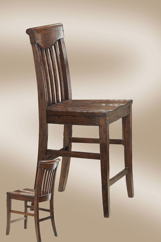 Gettysburg Scooped Seat Counter Stool (Set of 2)