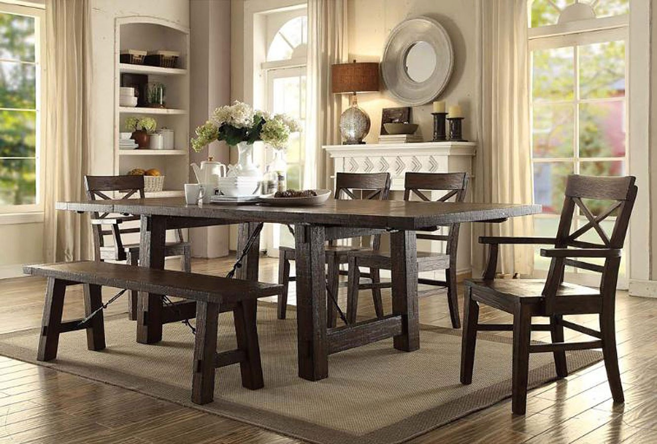 Gettysburg Trestle Dining Room Set ECI Furniture | Furniture Cart