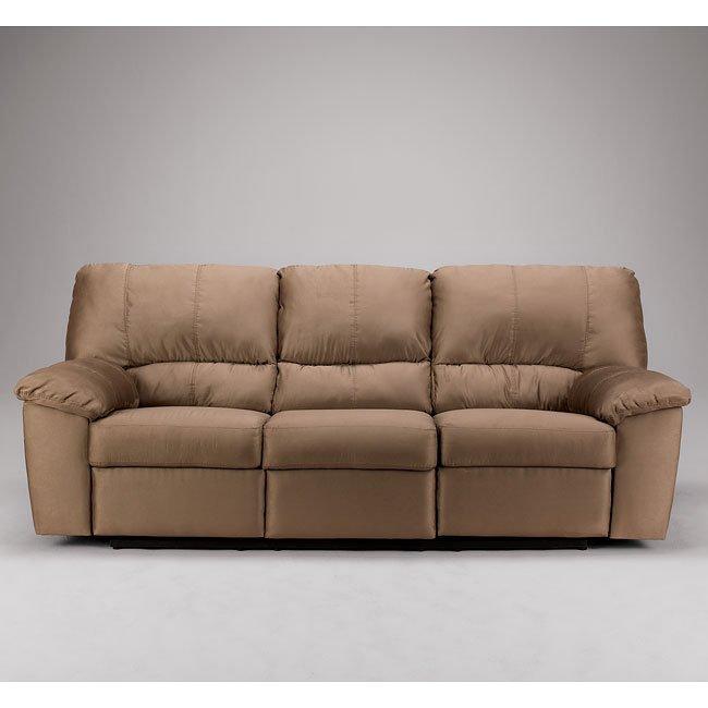 Durapella - Cocoa Reclining Sofa