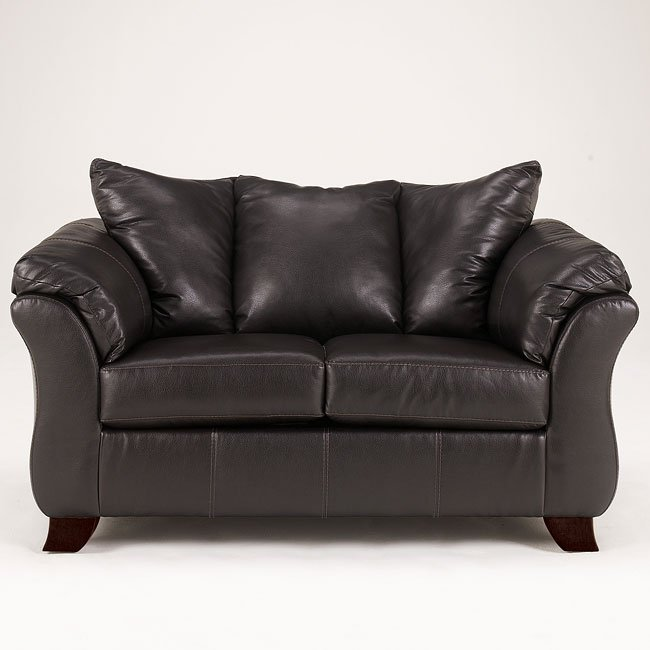 San Marco DuraBlend - Chocolate Loveseat