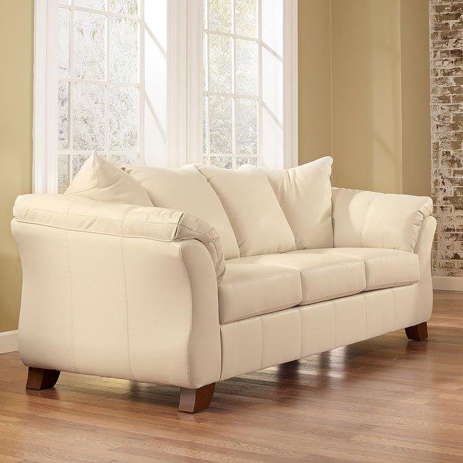 San Marco DuraBlend - Ivory Full Sofa Sleeper