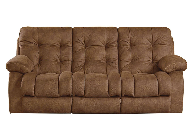 Watson Power Lay Flat Reclining Sofa (Almond) Catnapper | Furniture Cart