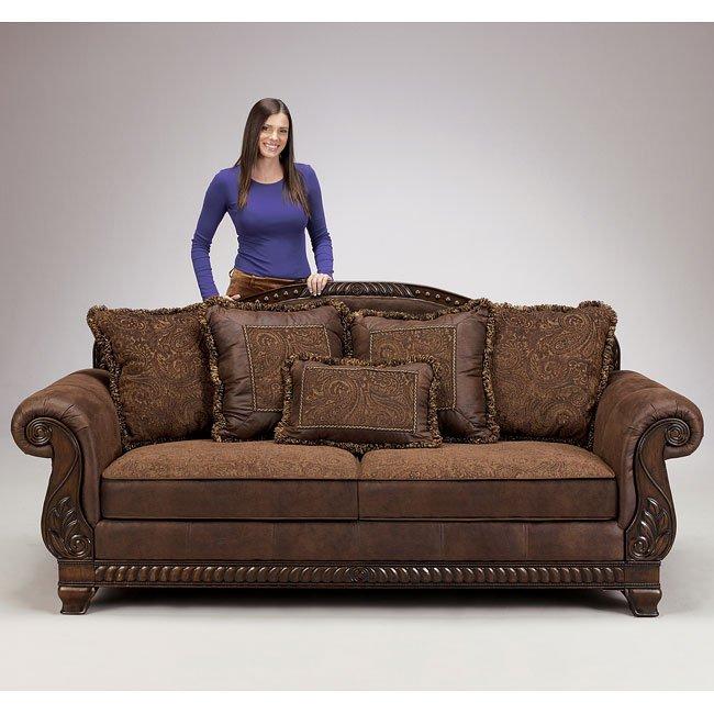 Bradington Truffle Sofa Signature Design 5 Reviews
