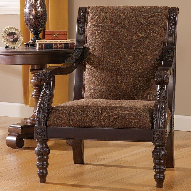 Bradington - Truffle Showood Accent Chair
