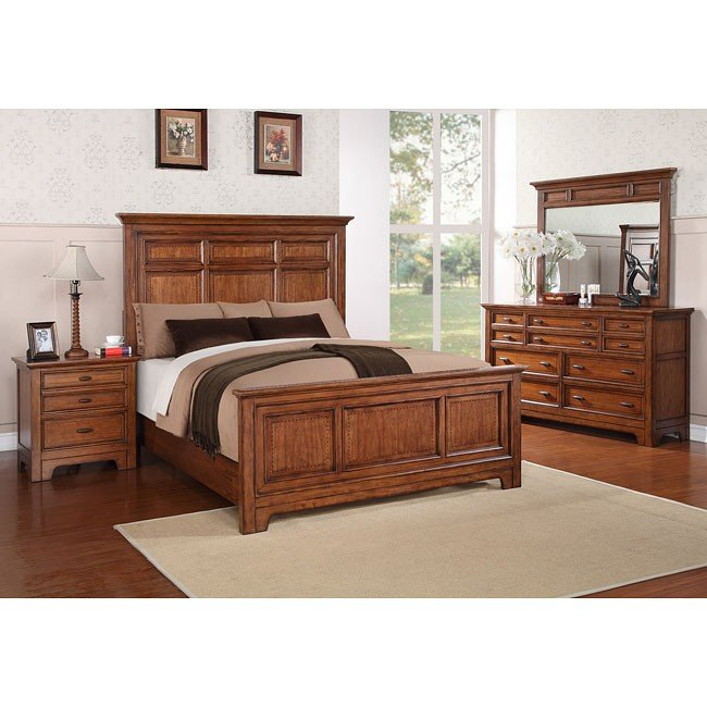 River Valley Panel Bedroom Set
