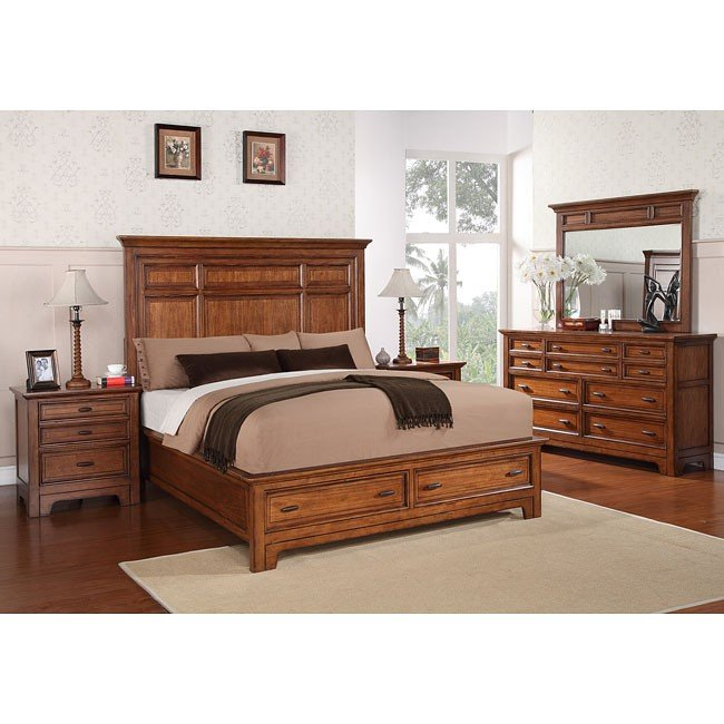 River Valley Storage Bedroom Set
