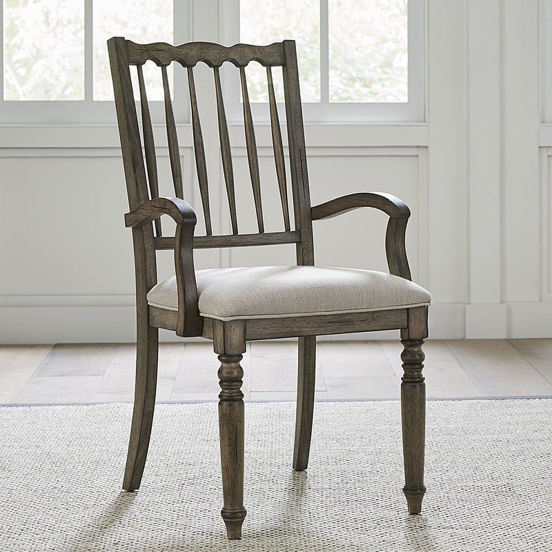 Brandywine Spindle Back Upholstered Arm Chair Set Of 2 Liberty